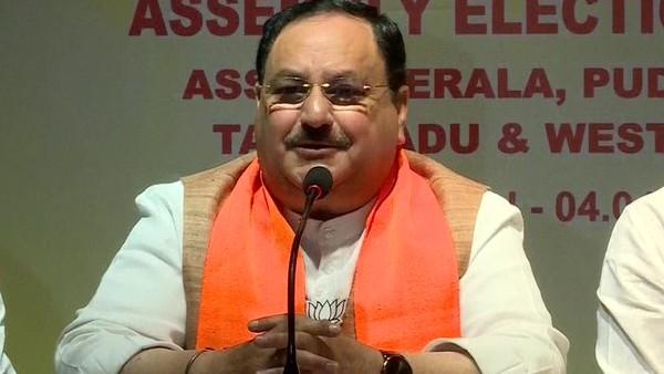 चेन्नई में नड्डा ने किया दावा- AIADMK के नेतृत्व में बनेगी हमारी सरकार