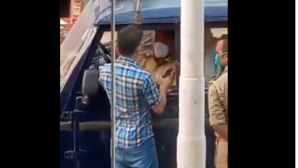 दिल्ली के कपल से आगे निकला यूपी का युवक, मास्क न पहनने पर रोका तो दरोगा को ही जड़ दिया थप्पड़