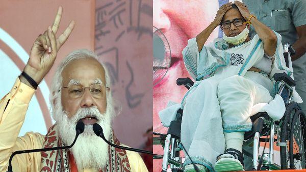 पीएम मोदी का दावा- ममता दीदी हार रहीं चुनाव, जल्द भरेंगी दूसरी सीट से नामांकन, TMC ने दिया जवाब
