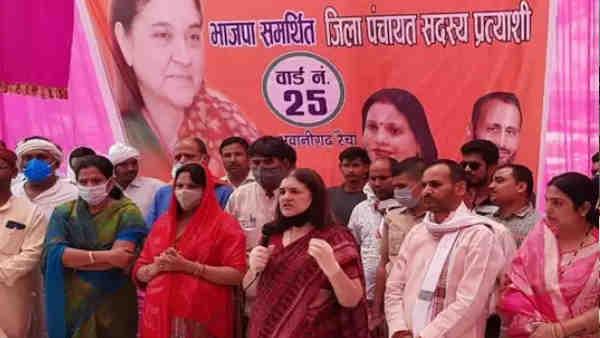 ये भी पढ़ें:- पंचायत चुनाव के लिए सुल्तानपुर पहुंचीं मेनका गांधी, कहा- जीतने के बाद BJP कैंडीडेट ने लिए एक भी रुपया तो...