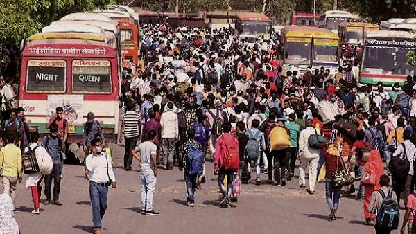 Migrant workers at Delhi border: UP CM Yogi sent buses to bring 1 lakh people to their native places