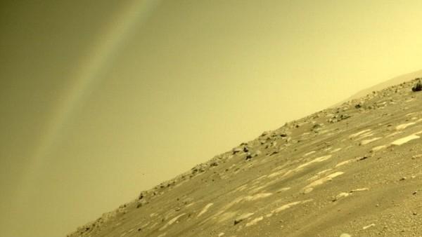 मंगल ग्रह पर बिना बारिश हुए दिखा 'इंद्रधनुष', जानें कैसे हुई ये अजीबो-गरीब घटना?