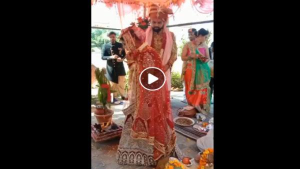 ऑनलाइन शादी : 400 KM दूर बैठे पंडित ने वीडियो कॉल करके करवाई दोस्त की बेटी की शादी</a><a href=