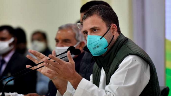 Congress Rahul Gandhi said- Modi governments vaccine strategy like is demonetisation