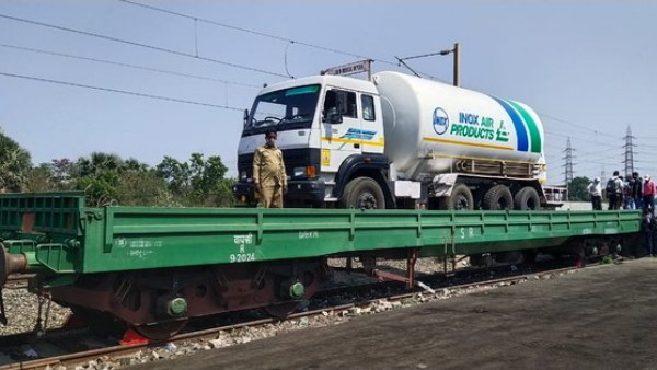 green corridor is being created for Oxygen Express Trains to transport of oxygen to states