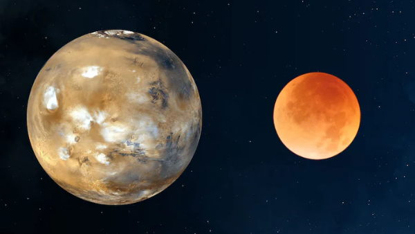 Rare lunar occultation of Mars to be visible from India today