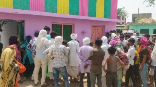 भरतपुर के गांव नंदेरा बास में युवती के अपहरण के बाद तनाव, युवकों के घरों में तोड़फोड़