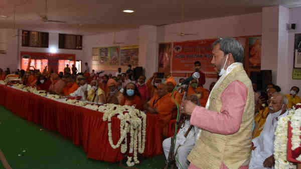 CM Tirath Singh Rawat said that 51 temples will be out of Devasthanam board