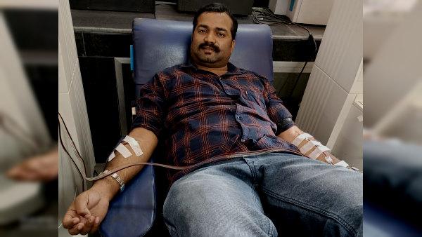 उदयपुर : दो महिलाओं की जान बचाने के लिए अकील मंसूरी ने रोजा तोड़कर प्लाज्मा डोनेट किया