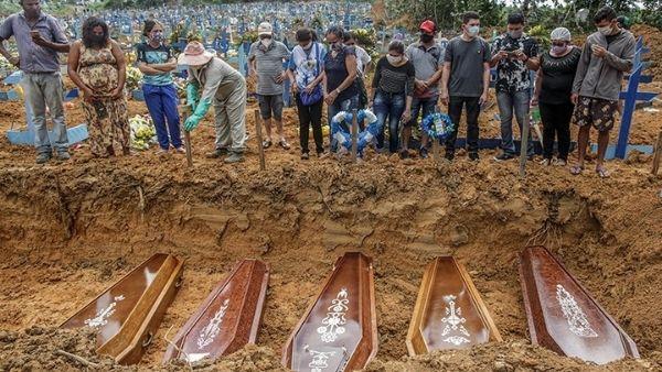 इंडोनेशिया में कोरोना से भयानक हालात तो ब्राजील में थम नहीं रहा मौतों का सिलसिला, त्राहिमाम करते लोग