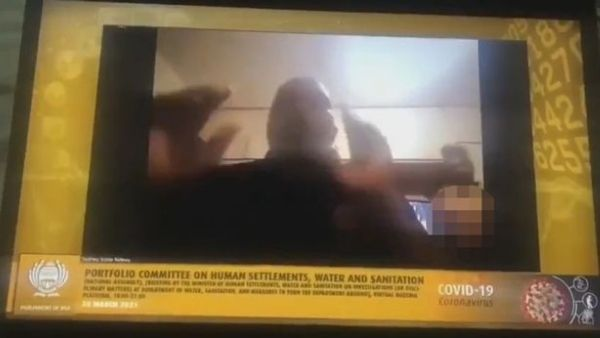ZOOM पर चल रही थी संसदीय मीटिंग, पीछे से बिना कपड़ों के आ गई नेता की पत्नी, वायरल हुआ वीडियो