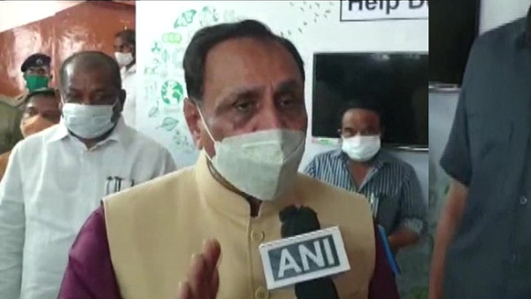 Gujarat Chief Minister Vijay Rupani takes first dose of coronavirus vaccine