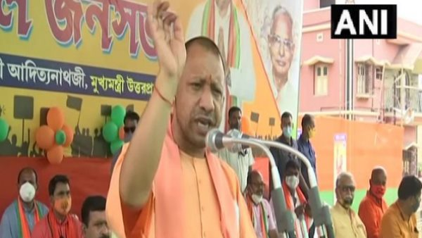 West Bengal assembly election 2021 Yogi Adityanath addressed rally in hooghly