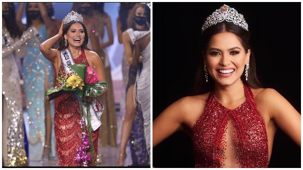 ये भी पढ़ें- जानिए कौन हैं मिस यूनिवर्स 2020 का ताज पहनने वाली मैक्सिको की एंड्रिया मेजा