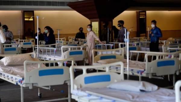 ऋषिकेश में कोरोना मरीजों के लिए आइडीपीएल में 500 बेड का कोविड अस्पताल बनना शुरू हुआ