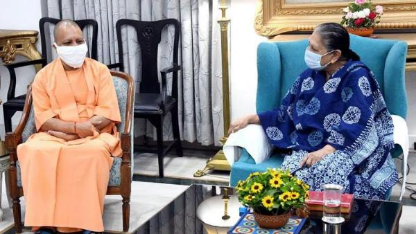 यूपी में मंत्रिमंडल विस्तार की अटकलों के बीच राज्यपाल आनंदीबेन पटेल से मिलेंगे CM योगी