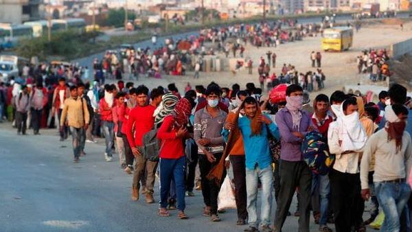 गुजरात में भी लॉकडाउन लगेगा? अब तक हजारों श्रमिक अन्य राज्यों को रवाना हुए, 50-60% हीरा कारीगर भी घर लौटे