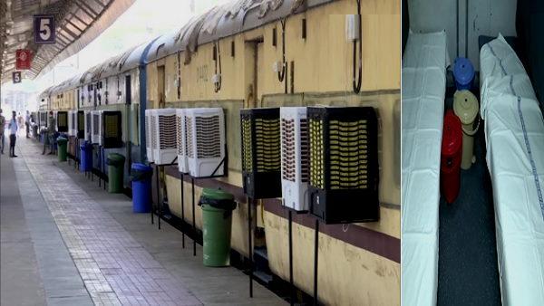 गुजरात: कोरोना से सर्वाधिक प्रभावित अहमदाबाद में रेल के डिब्बों में कोविड केयर सेंटर बने, मरीज भर्ती होंगे