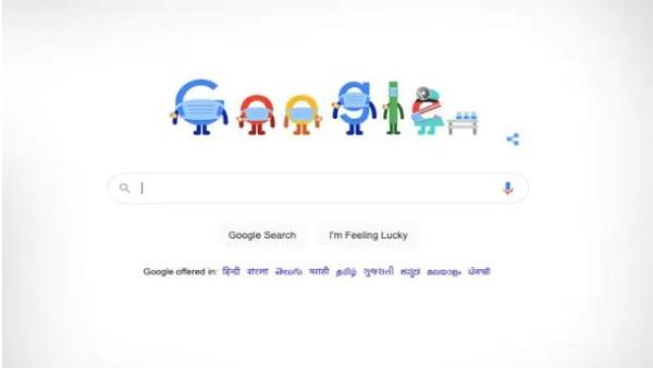 कोरोना काल में वैक्सीन और मास्क के प्रति लोगों को जागरूक करने के लिए गूगल ने बनाया खास डूडल