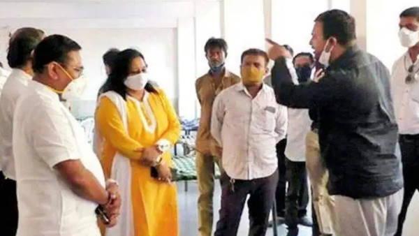 गुजरात: अपनी ही पार्टी के सांसद पर भड़का भाजपा कार्यकर्ता, ना कहीं बेड है ना ऑक्सीजन
