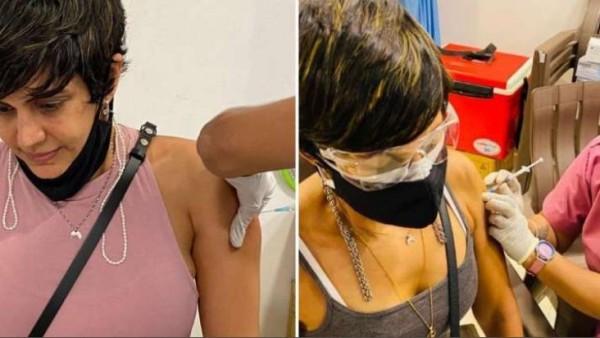 एक्ट्रेस मंदिरा बेदी ने ली कोविड वैक्सीन की दूसरी डोज, फिट रहने के लिए दिए टिप्स