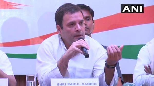 राहुल गांधी बोले- पीएम मोदी की झूठी छवि के लिए मंत्री कुछ भी बोलने को मजबूर