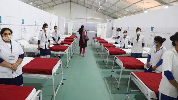 हरियाणा: CM खट्टर ने किया 500 बेड वाले कोविड अस्पताल का उद्घाटन, धर्मेंद्र प्रधान ने कही बड़ी बात