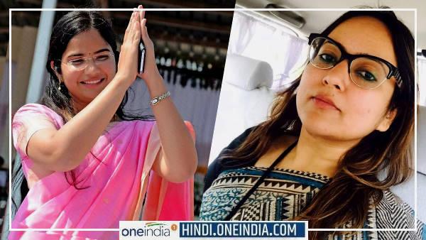 पानी में योगा करने वालीं आईएएस नेहा शर्मा ने शेयर की IAS Swati Meena Naik की होटल वाली फेक स्टोरी