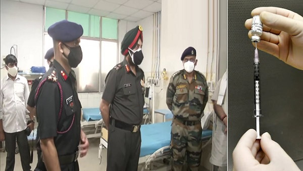भारतीय सेना ने फरीदाबाद अटल मेडिकल कॉलेज में की 100 बेड की कोविड-फैसेलिटी, संख्या दोगुना होगी जल्द
