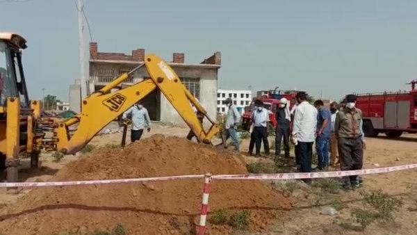 जयपुर के कालवाड़ में सुरंग बनाकर HPCL पाइप लाइन से डीजल चोरी, गिरोह का पर्दाफाश