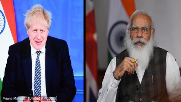 ब्रिटिश प्रधानमंत्री के साथ पीएम मोदी ने की वर्चुअल बैठक, 2030 तक व्यापार दोगुना करने का रखा लक्ष्य