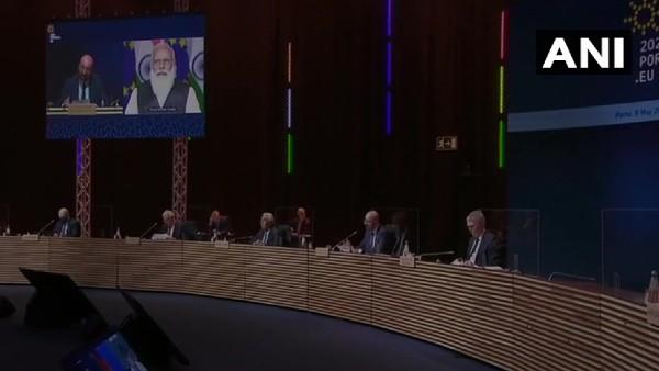 यूरोपीय यूनियन की समिट में पीएम मोदी ने लिया हिस्सा, आपसी संबंधों को मजबूत बनाने पर जोर