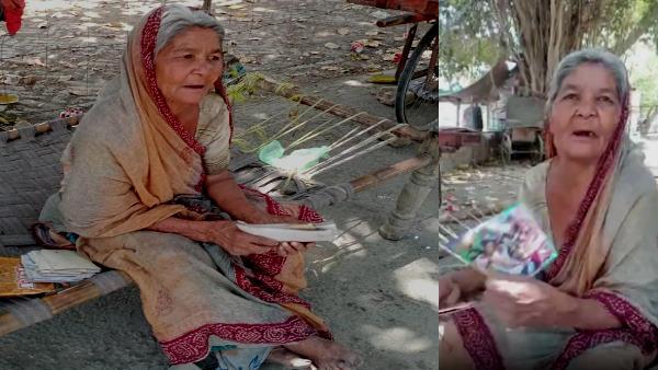 Rajasthan : शादी के बाद 5 बेटों ने 70 वर्षीय मां को ठुकराया, बरगद के पेड़ के नीचे जिंदगी बिता रहीं कविता
