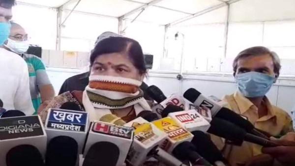 एमपी की मंत्री उषा ठाकुर का तर्क-'कोरोना की तीसरी लहर से बचने के लिए करना होगा यज्ञ'