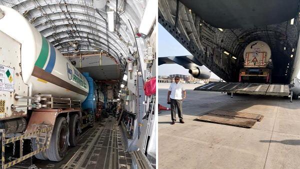 राहत भरी खबर: हरियाणा में ऑक्सीजन का संकट दूर होगा, भुवनेश्वर से एयरलिफ्ट कराए गए 4 टैंकर