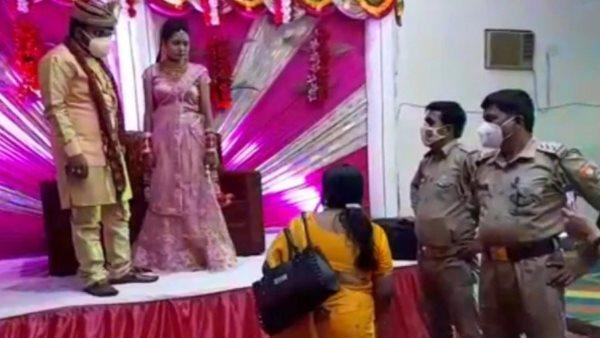 शादी के बीच स्टेज पर पहुंची महिला, बोली - मैं हूं इसकी बीवी, दूल्हे को थाने ले गई पुलिस