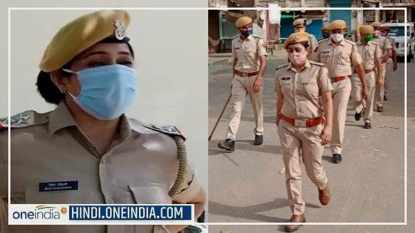 Riya Chaudhary : 2 सरकारी नौकरी छोड़कर चुनी 'खाकी', फिर बन गईं राजस्थान पुलिस की लेडी सिंघम<br/>
