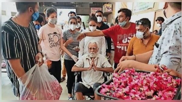 90 वर्षीय बुजुर्ग के फेफड़े 80% कोरोना संक्रमित हो गए थे, सोच रहे थे नहीं जी पाएंगे, लेकिन 25 दिन बाद घर लौटे