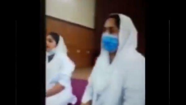 पाकिस्तान में चर्च पर मुस्लिम नर्सों ने किया कब्जा, ईसाई कर्मचारियों को धमकी देने का वीडियो वायरल
