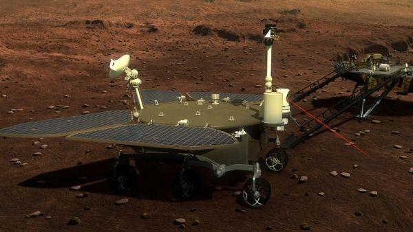 चीन के मंगल मिशन को बड़ी कामयाबी, जुरोंग रोवर को मंगल ग्रह पर उतार रचा इतिहास
