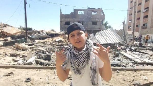 Watch: गाजा के 12 साल के बच्चे के रैप ने दुनिया को किया भावुक, गीत के जरिए बताई गाजा की बर्बादी की कहानी