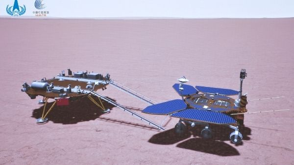 चीन ने मंगल ग्रह पर कामयाबी के साथ उतारा रोवर, अंतरिक्ष में अमेरिका के वर्चस्व को तोड़ने का किया दावा