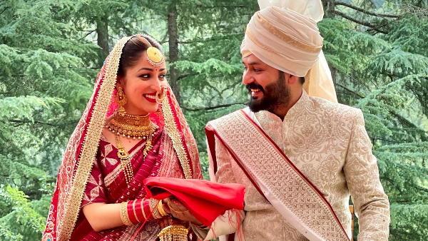 यामी गौतम ने डायरेक्टर आदित्य से रचाई शादी, सामने आई पहली तस्वीर