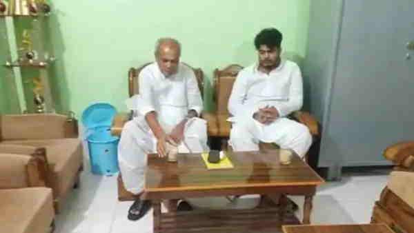 RJD के पूर्व सांसद प्रभुनाथ सिंह से शहाबुद्दीन के बेटे ओसामा ने की मुलाकात, अटकलें शुरू