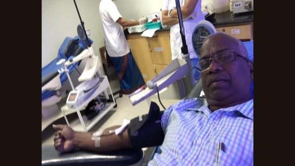मिलिए एक दुर्लभ ब्लड डोनर पॉल एमजे से, जिन्होंने रक्तदान कर बचाई कई लोगों की जिंदगी