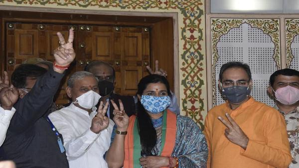 जयपुर : मेयर Somya Gurjar ने सस्पेंड होने के बाद पहली बार मीडिया से बात की, जानिए क्या कहा?