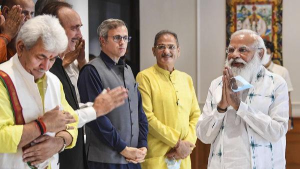 कश्मीरी नेताओं के साथ पीएम मोदी की बैठक: पूर्ण राज्य का दर्जा समेत इन बिंदुओं पर हुई चर्चा