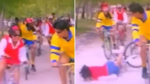 'कुछ कुछ होता है' के सेट पर साइकिल से मुंह के बल गिरी थीं काजोल, फिर चली गई थी उनकी यादाश्त, देखें Video