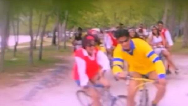 कुछ कुछ होता है' के सेट पर साइकिल से मुंह के बल गिरी थीं काजोल, फिर चली गई  थी उनकी यादाश्त, देखें Video | Kajol share video when she fell on her