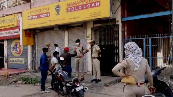 Loot in Churu : मणप्पुरम गोल्ड लोन ऑफिस चूरू से 4 बदमाश 12 मिनट में लूट ले गए 9 करोड़ का सोना